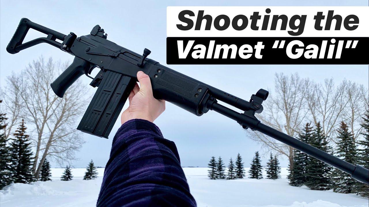 """【搬运/ArmandGun】射击一把瓦尔梅特的""""加利尔""""步枪(地球OL)"""