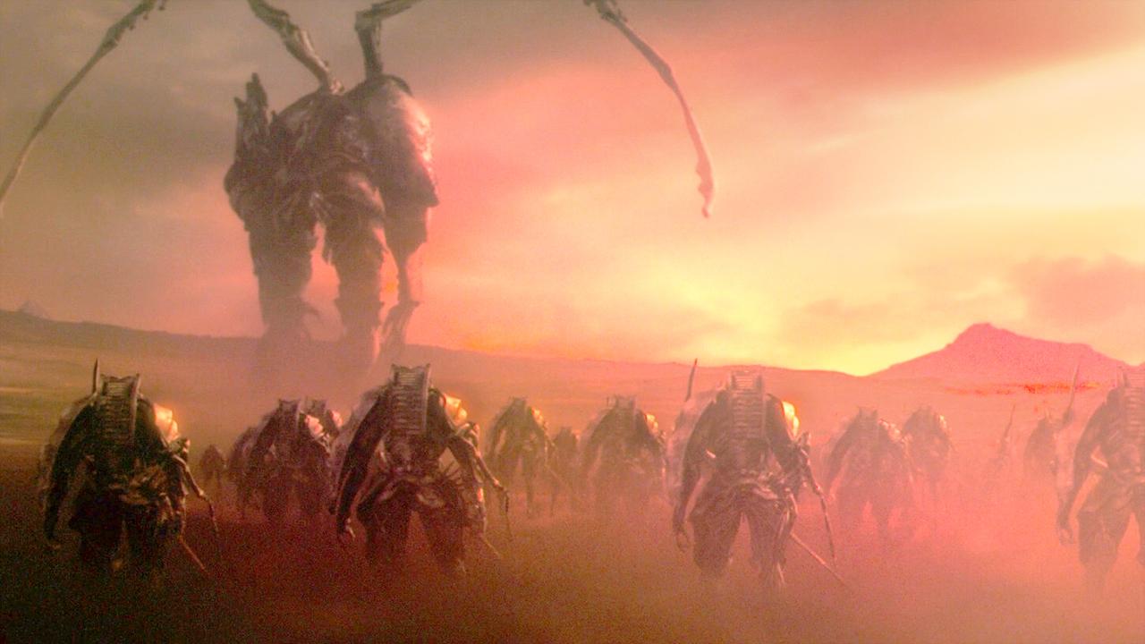 高等文明用克隆人做实验,失败后,却派出机器巨人毁灭整个星球!速看科幻电影《最后的德鲁伊:加尔姆战争》
