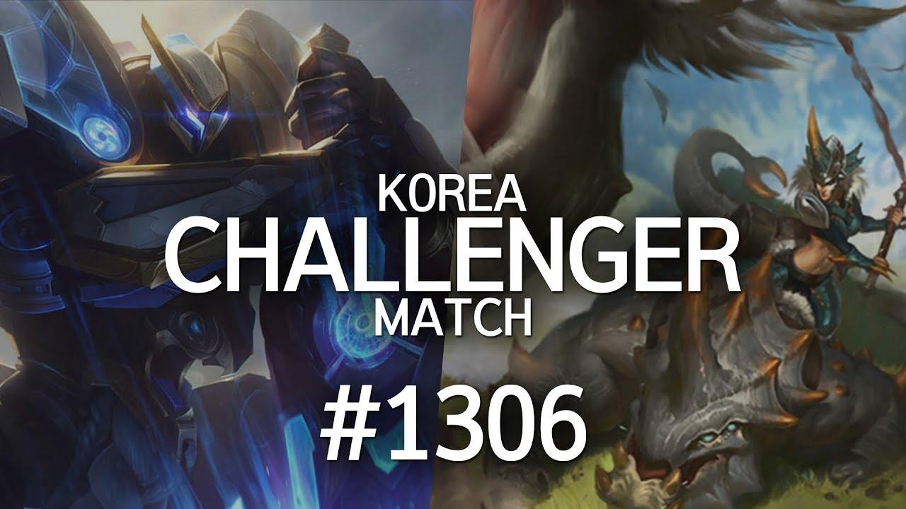 韩服最强王者菁英对决 #1306 | olg!