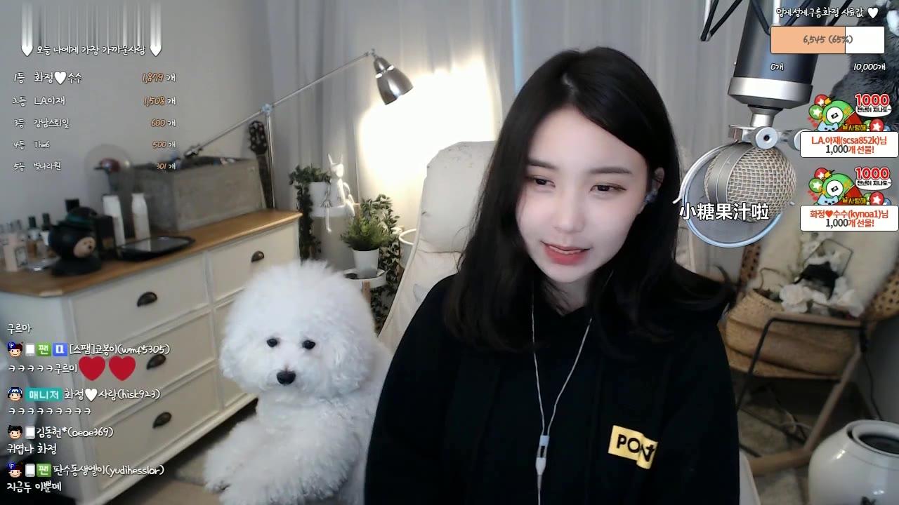 afreecaTV韩国女主播花井直播回放唱歌剪辑版226 Red Velvet-psycho  IU