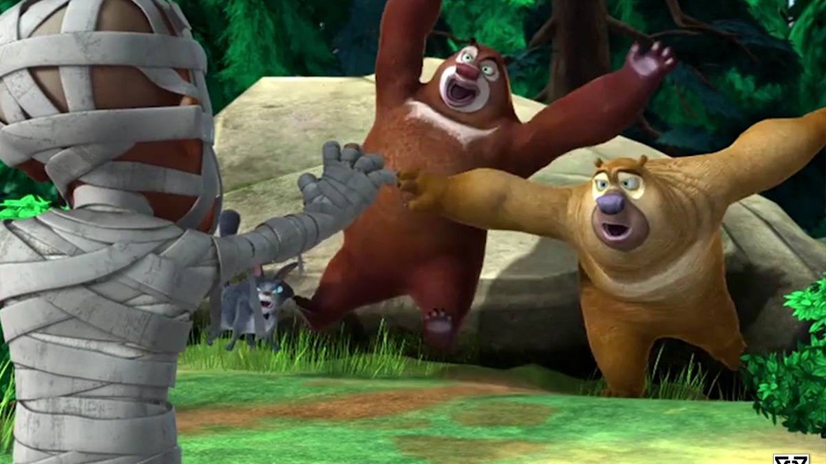 《熊出没》版生化危机,光头强成木乃伊撕咬熊熊,可我却笑出了声