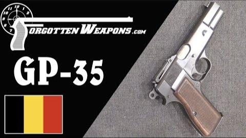 【被遗忘的武器/双语】GP-35--第一款军队列装的勃朗宁大威力手枪