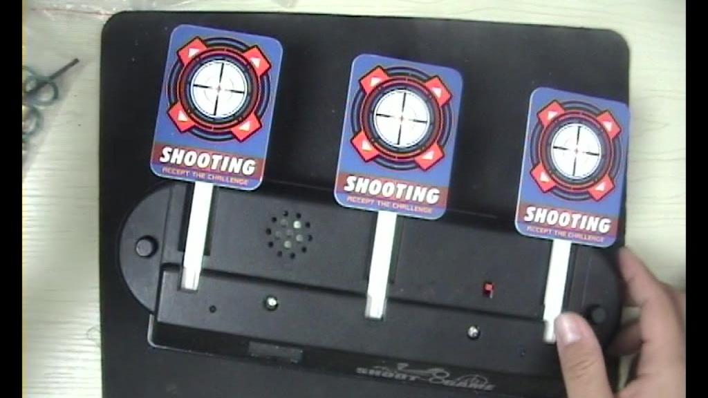 电动水弹计分标靶