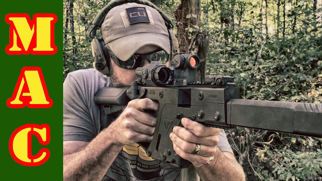 【MilitaryArmsChannel军武频道】KRISS Vector 10mm卡宾枪/冲锋枪