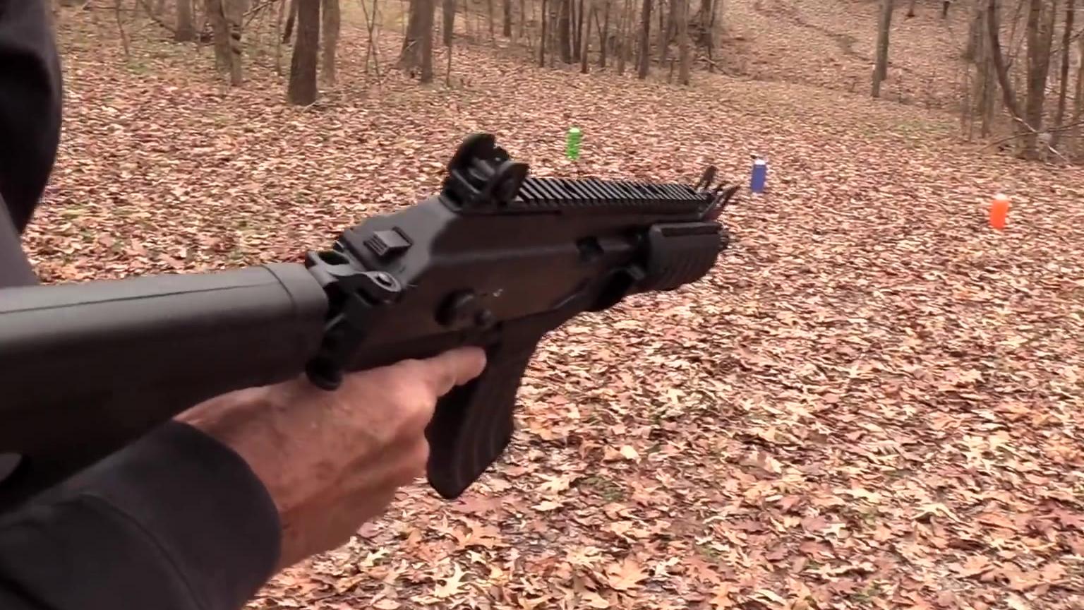 加利尔Ace步枪试用