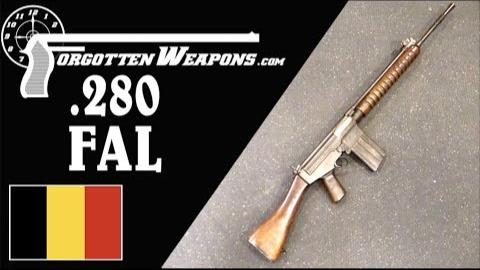 【被遗忘的武器/双语】源自50年代北约测试的.280口径FAL原型枪
