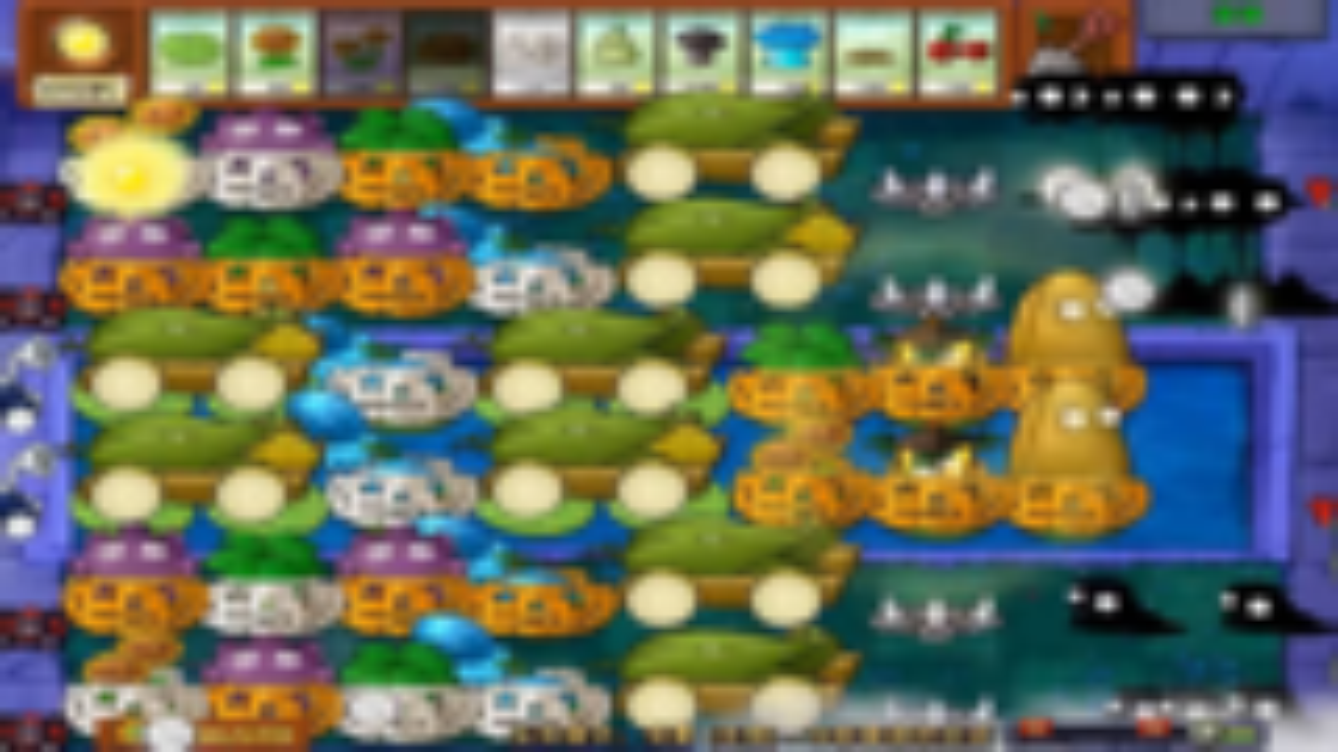 植物大战僵尸:尝鲜玩法,浓雾10炮阵的威力如何