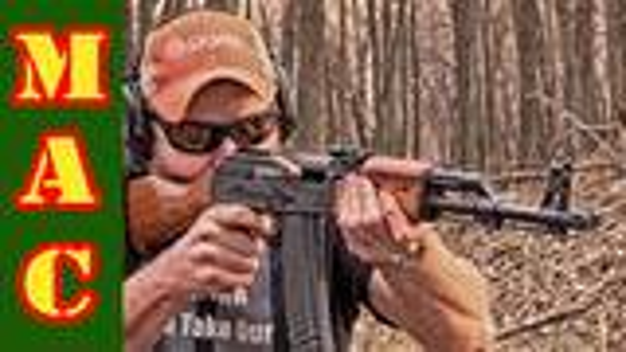 【MilitaryArmsChannel军武频道】北方工业84S式步枪(国产5.56mmAK47)