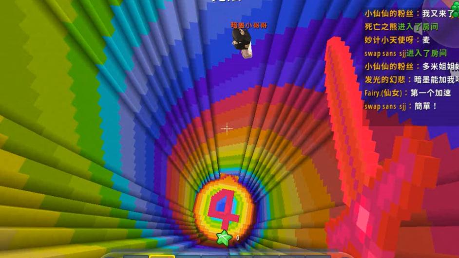 迷你世界:心跳水立方,这个地图太过分,多米跟暗墨看着都绝望
