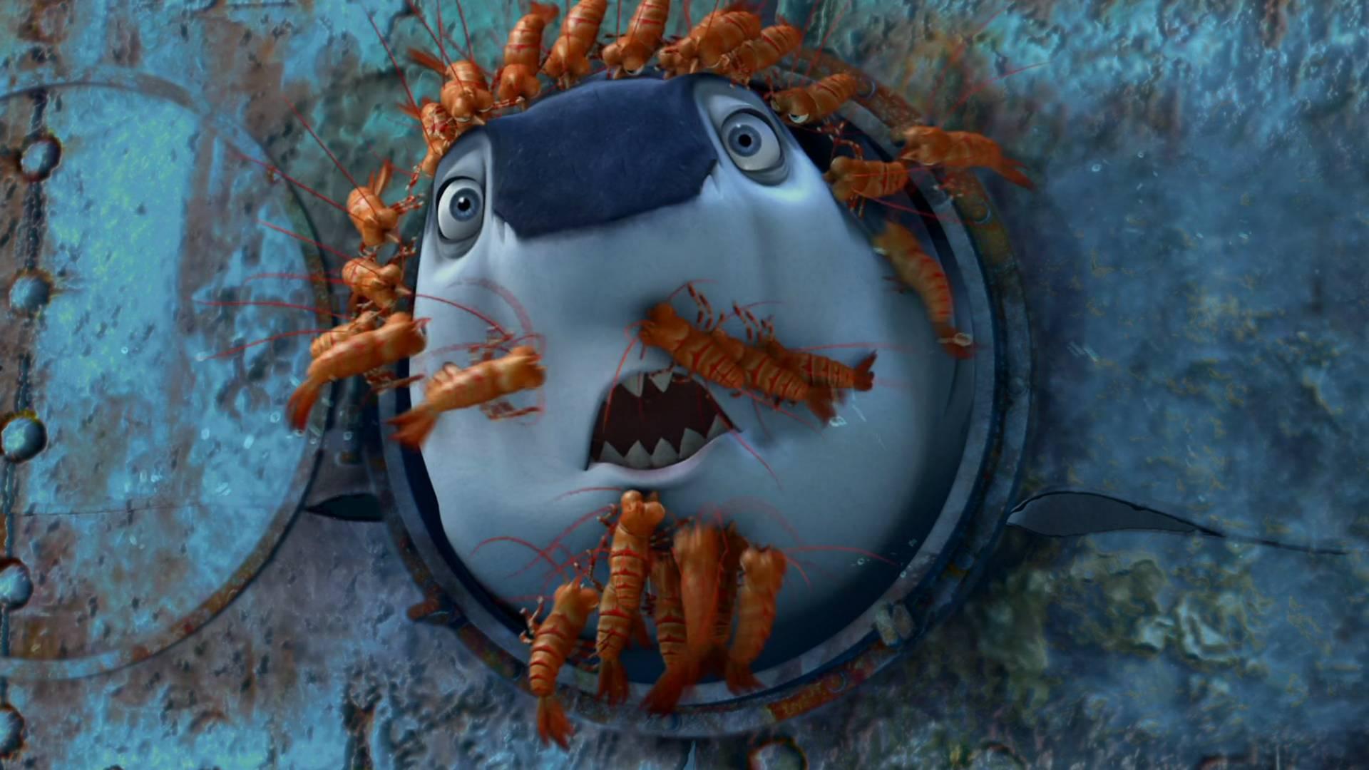 小鲨鱼从小不敢吃小鱼,这可把鲨鱼父母急坏了,一部搞笑鲨鱼电影