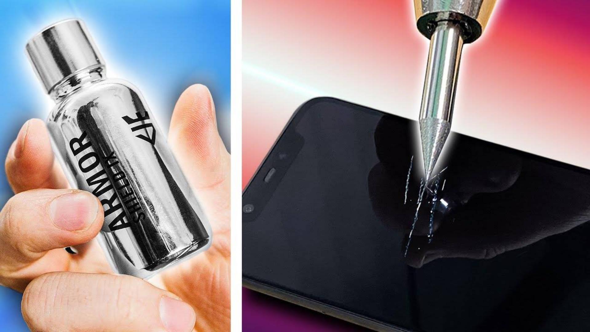 【官方双语】陶瓷镀晶能保护手机吗?#linus谈科技