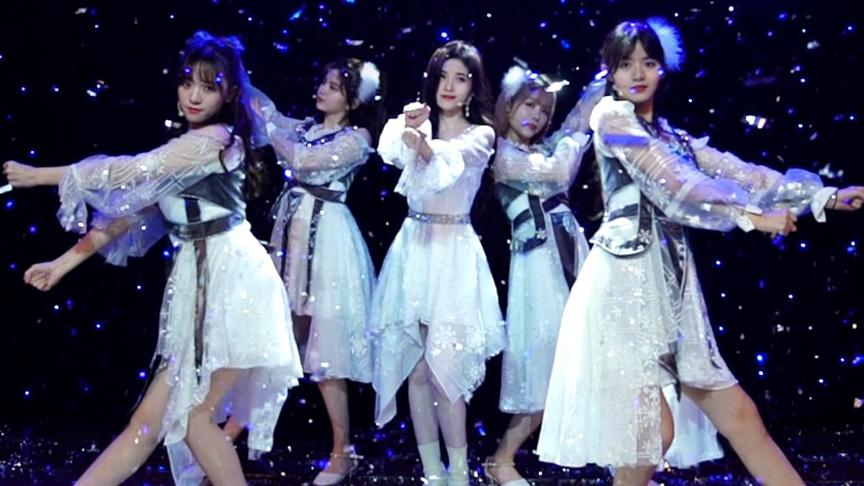 鞠婧祎 X SNH48《冬日》舞台版PV