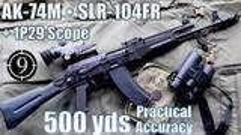 [9-Hole Reviews]使用AK74M步枪500码精准射击挑战