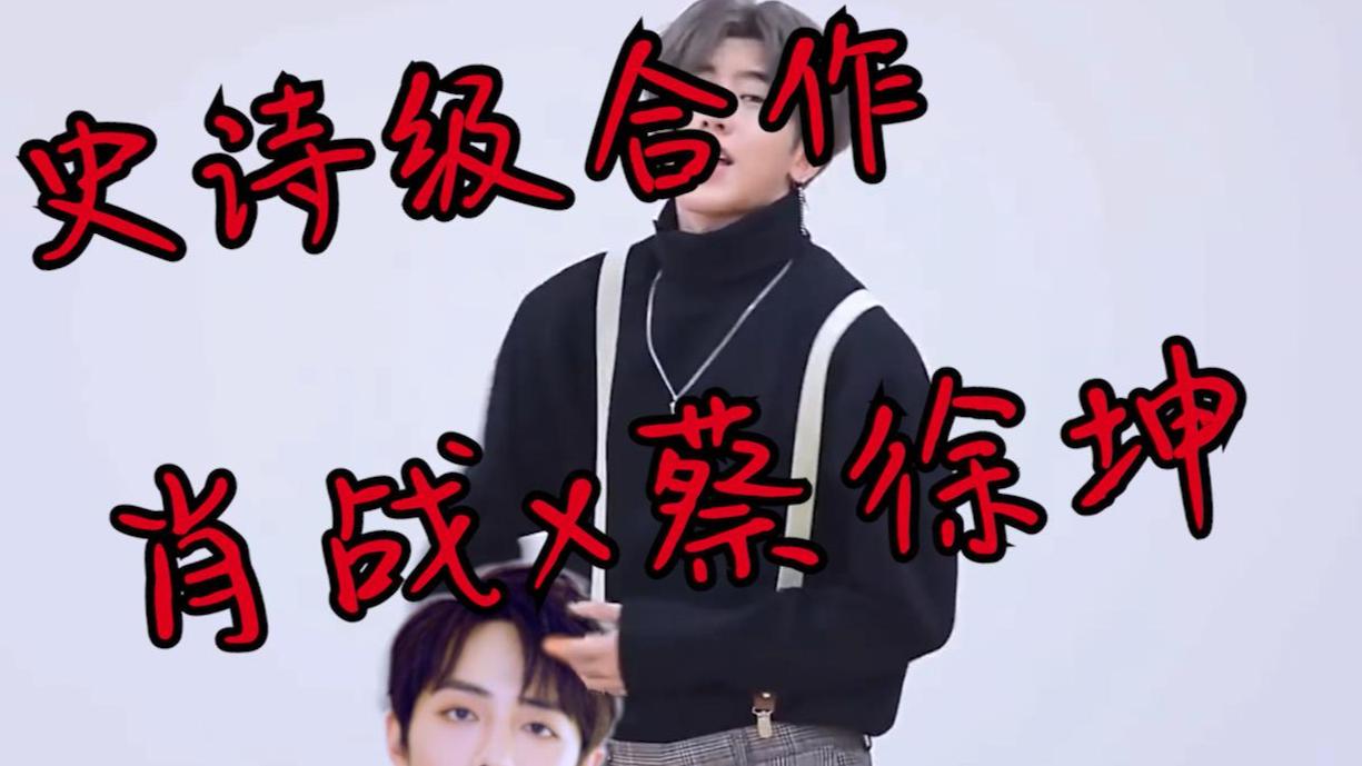 【肖战】蔡徐坤打肖战鬼畜素材