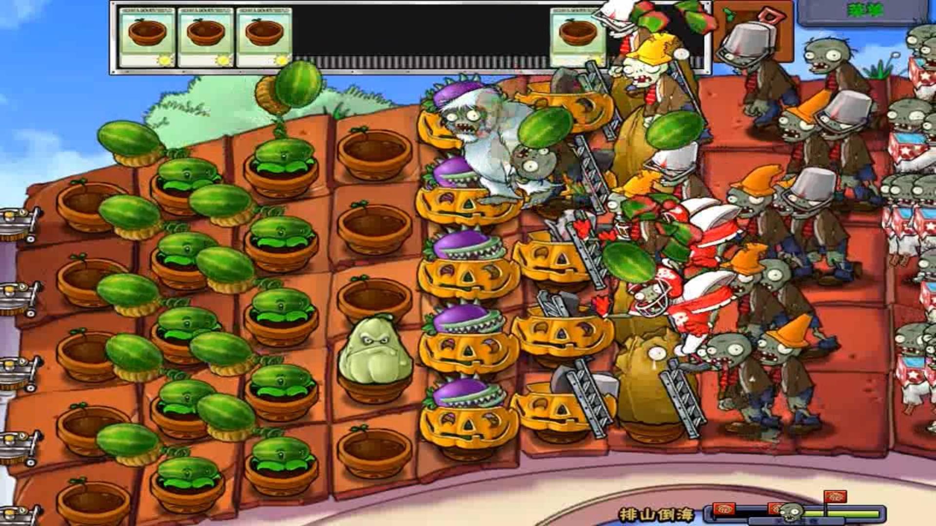 植物大战僵尸:beta版试水之旅,没想到玉米投手也能投出加农炮