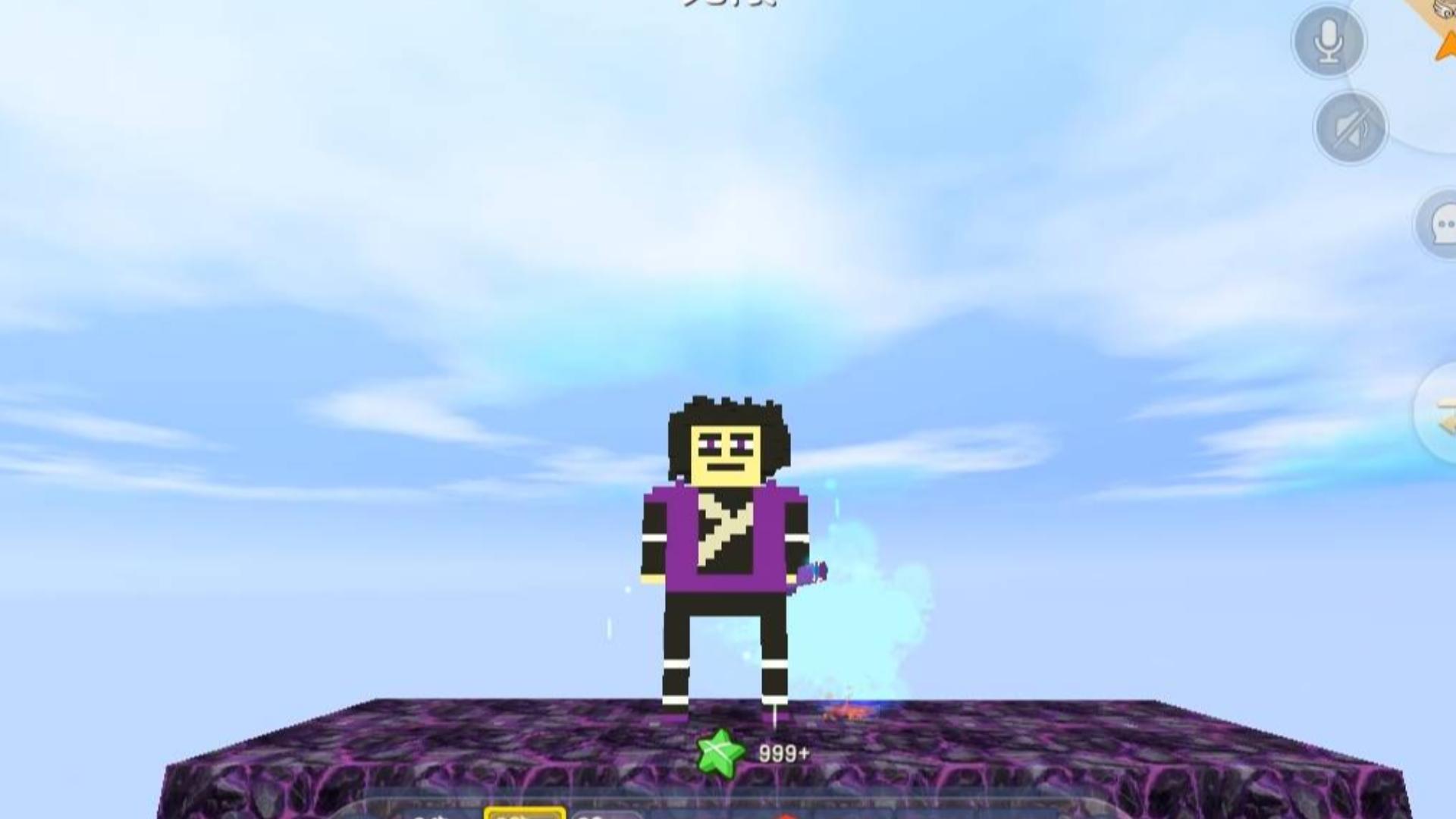 迷你世界:魔刀千刃两种跑酷,谁先跑到终点就可以变身刺客柒,半仙势在必得