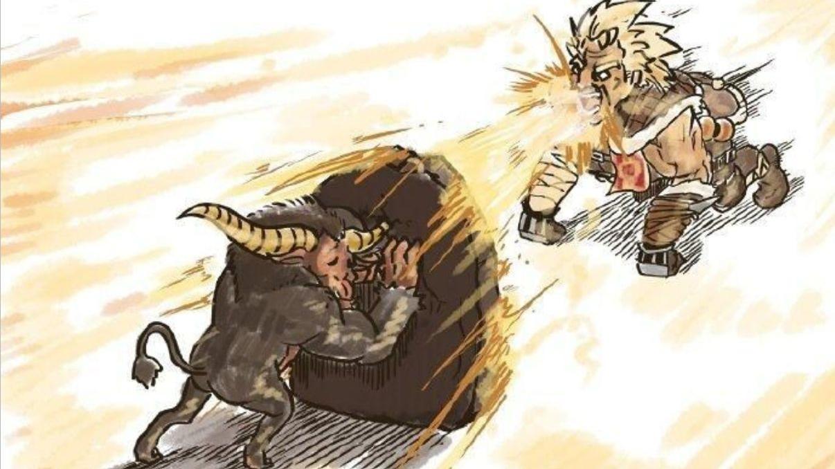 【A等生】【次元】怪物猎人世界 TA规则 斗技金狮子 弓 4:26