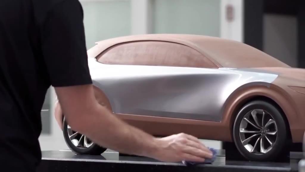 马自达CX 30~粘土造型与设计