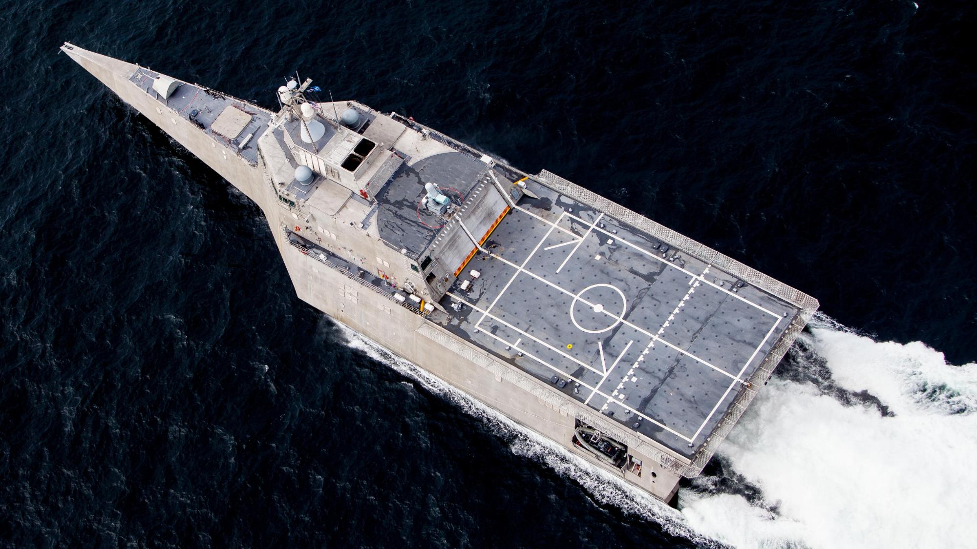 【讲堂540期】详解独立级濒海战斗舰,美军DDX计划第二款科幻战舰,近海作战利器