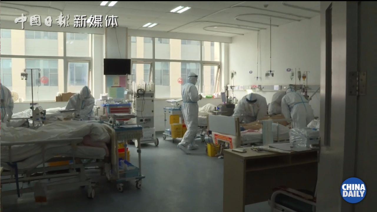 武汉隔离病房里的好消息:管子这么快就拔了?牛!