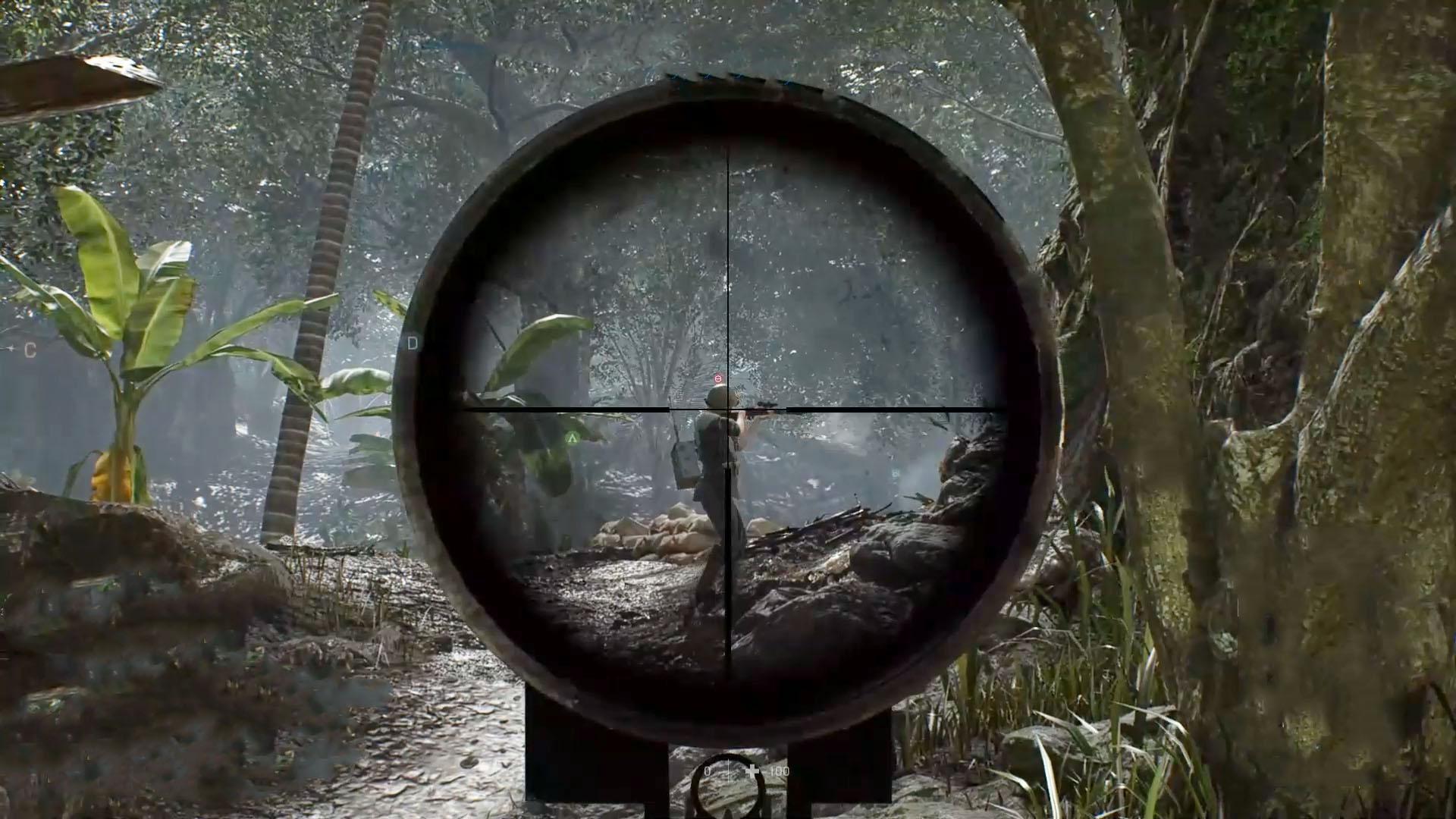 战地5:体验小日本的九九式狙击步枪,狙杀暴头的感觉真爽