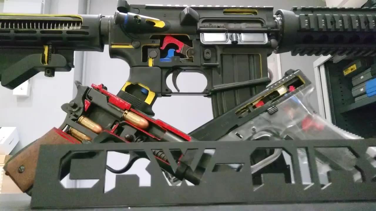 CRW自家製作Cutaway G17 M4 GBB
