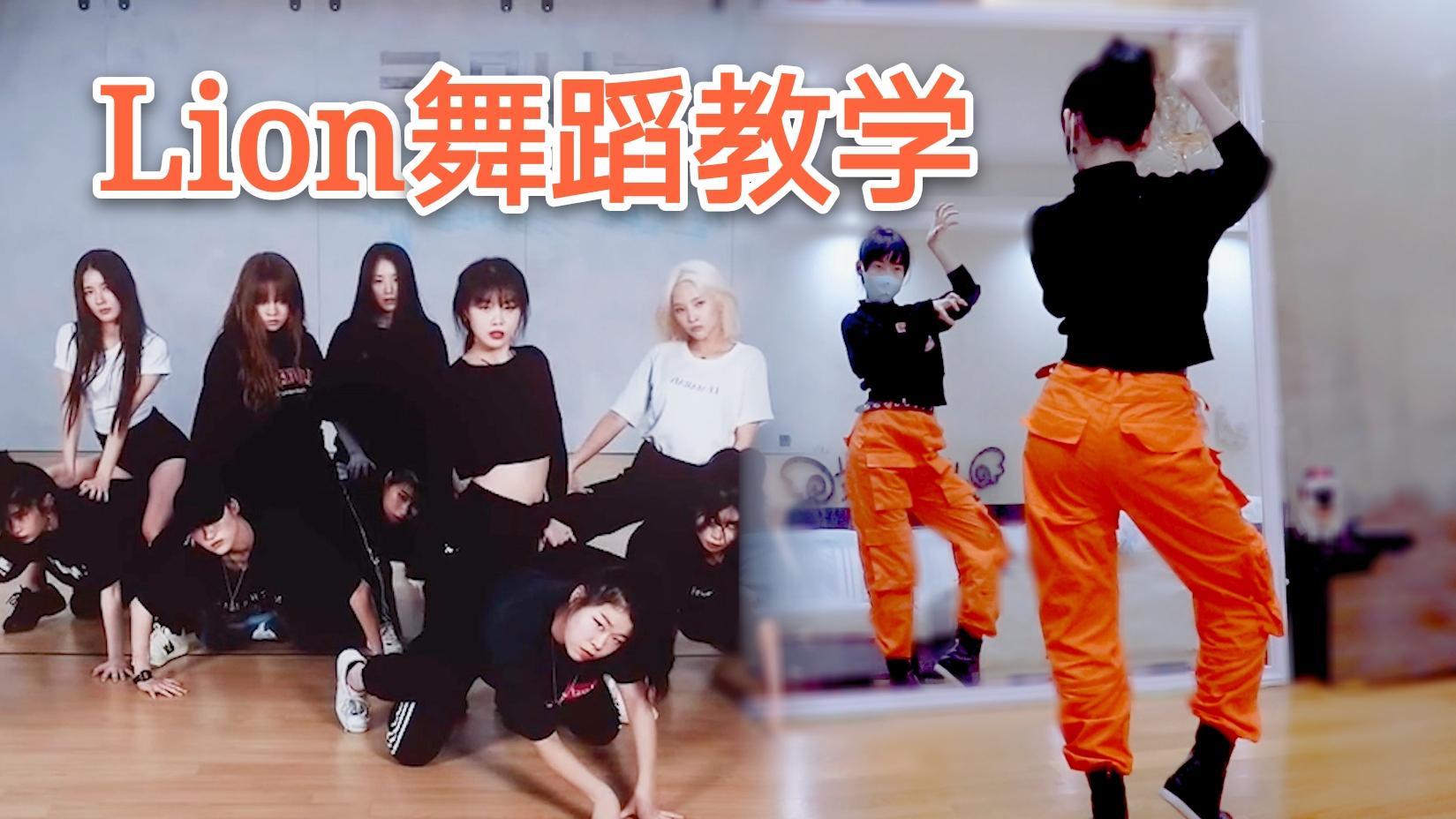 【紫嘉儿】(G)I-DLE《LION》舞蹈教学镜面动作分解教程