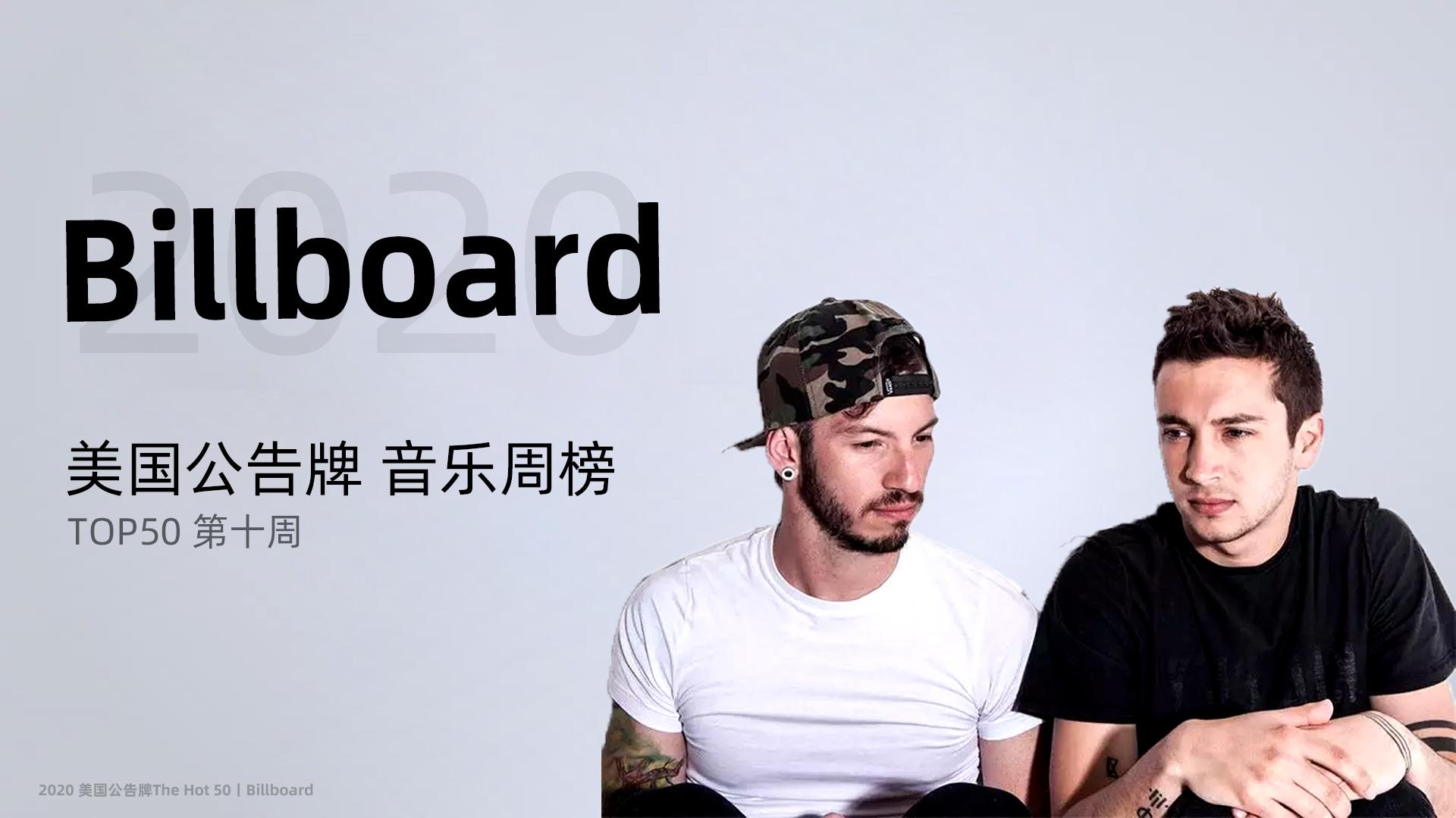 美国Billboard音乐周榜TOP50 第十周 嘎嘎空降第五 啪姐进军前三