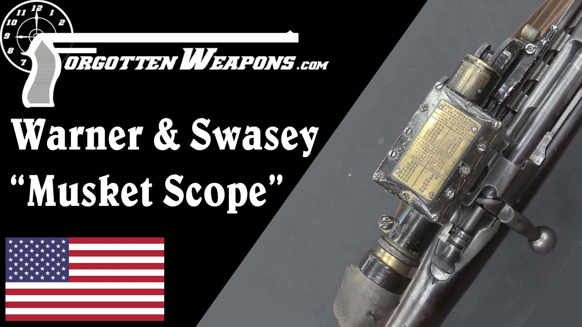 """【被遗忘的武器/双语】一战美军W&S M1913型""""火枪瞄准镜"""" (M1903搭载版)"""
