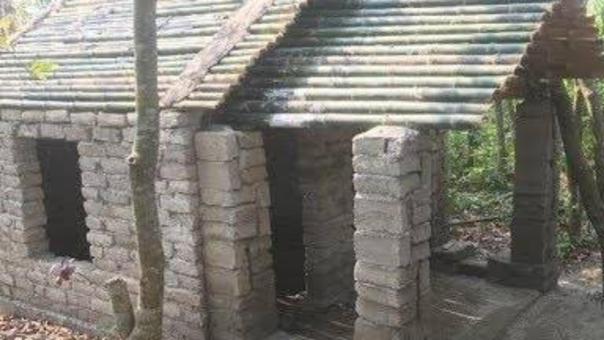 原始技术与生存技能荒野建房罗马部分8
