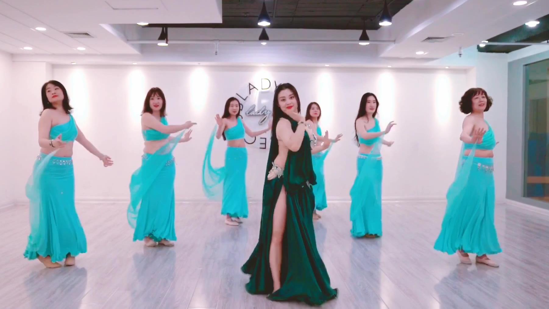 肚皮舞【三次心跳】 青岛肚皮舞 青岛LadyS舞蹈 青岛年会舞蹈 东方舞
