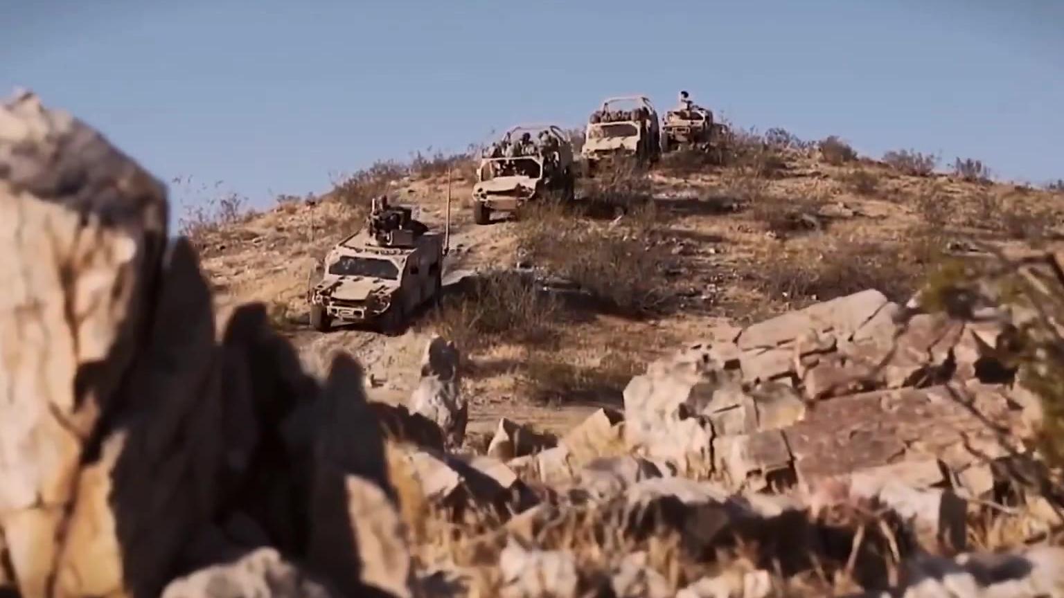 2020年 美军地面快速反应部队的特战车辆(中文字幕)