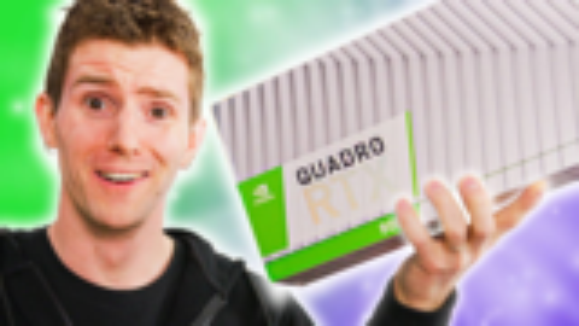 【官方双语】地表最强Quadro RTX 8000#linus谈科技