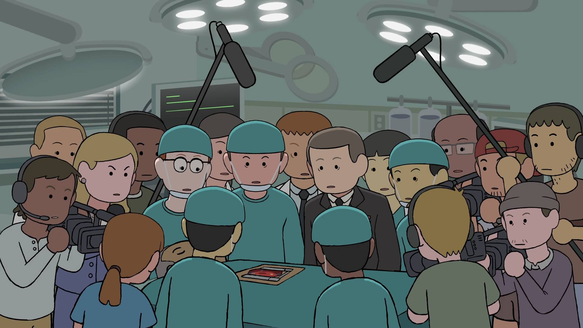 一场攸关性命的手术,竟变成了现场直播,全国上下的观众纷纷打赏围观