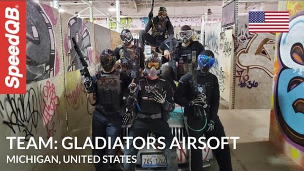 SpeedQB战队集锦BACK_LEFT!_Gladiators_Airsoft_Team