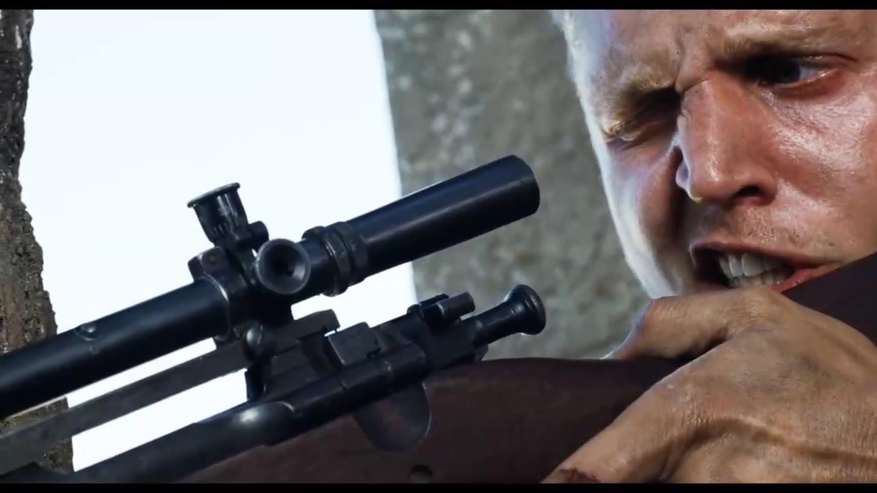 这才是战争中真实的狙击手!