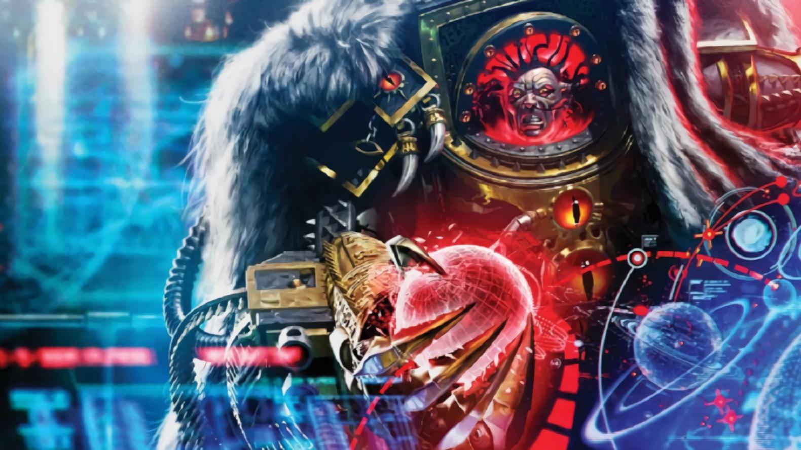 【达奇】他拥有混沌之力 誓要成为新的人类之主 《战锤40K》背后的故事