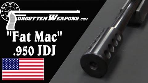 """【被遗忘的武器/双语】""""胖麦克""""- SSK工业的.950 JDJ步枪结构分析"""