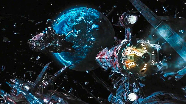 探险者在宇宙边缘发现未知星球,进去后,才发现这里是炼狱