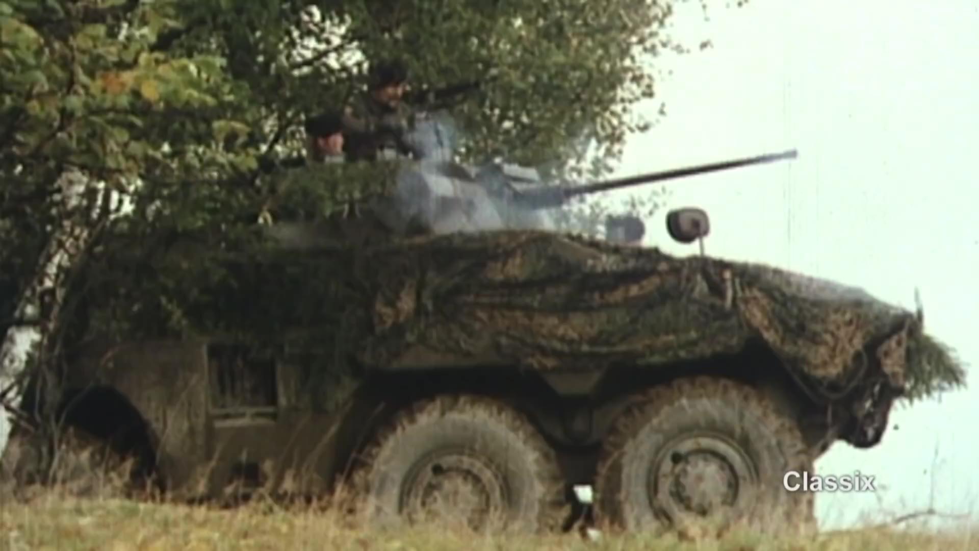 (德语)位于敌区 德国联邦国防军军教片1980