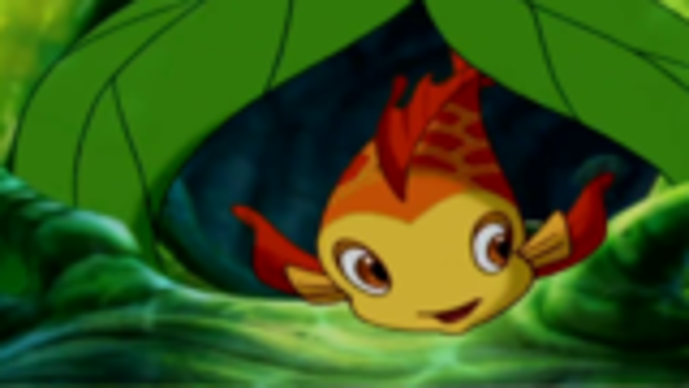 《小鲤鱼历险记》片尾曲《别看我小》