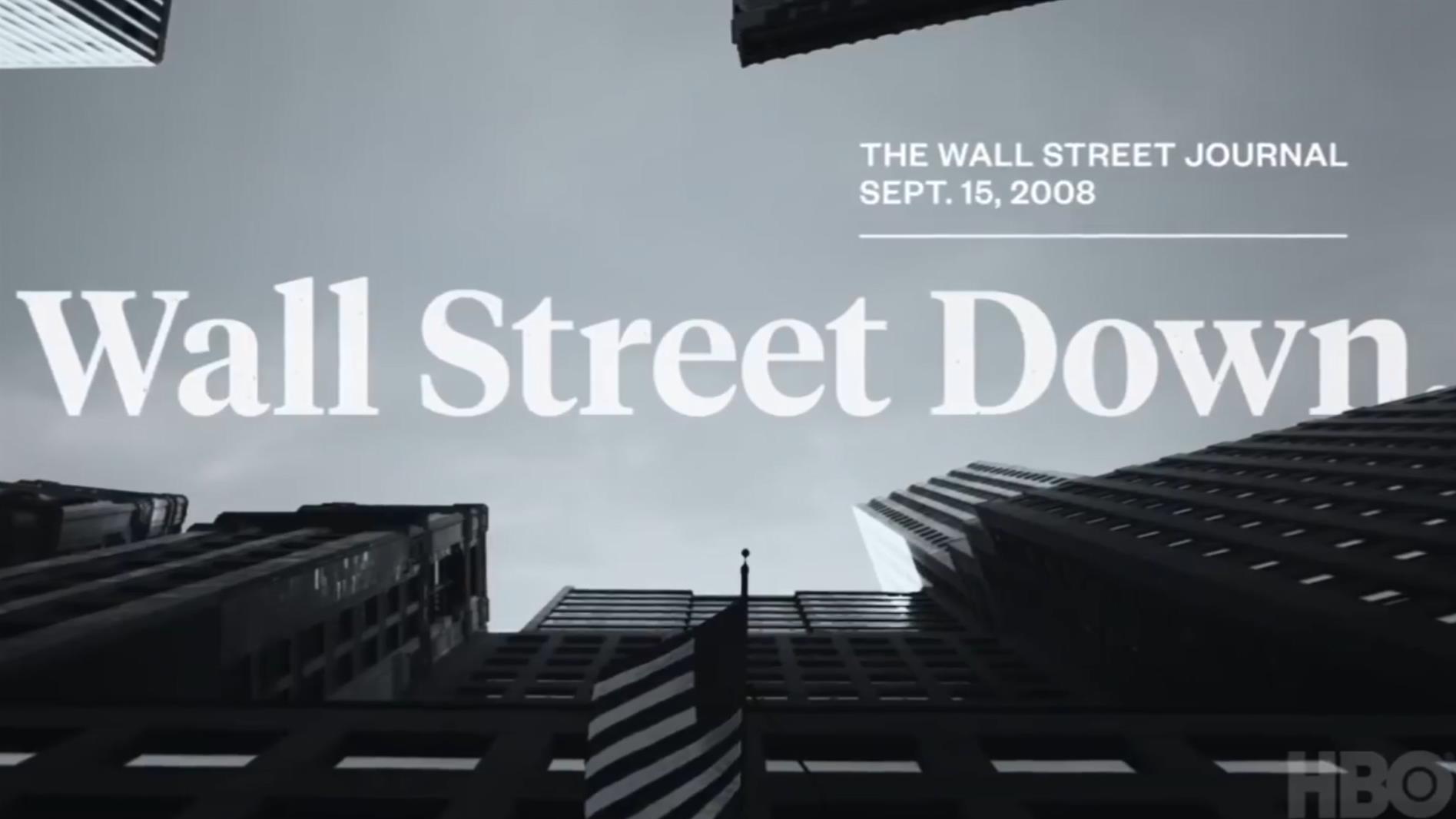 恐慌!2008年的金融危机全记录 | HBO