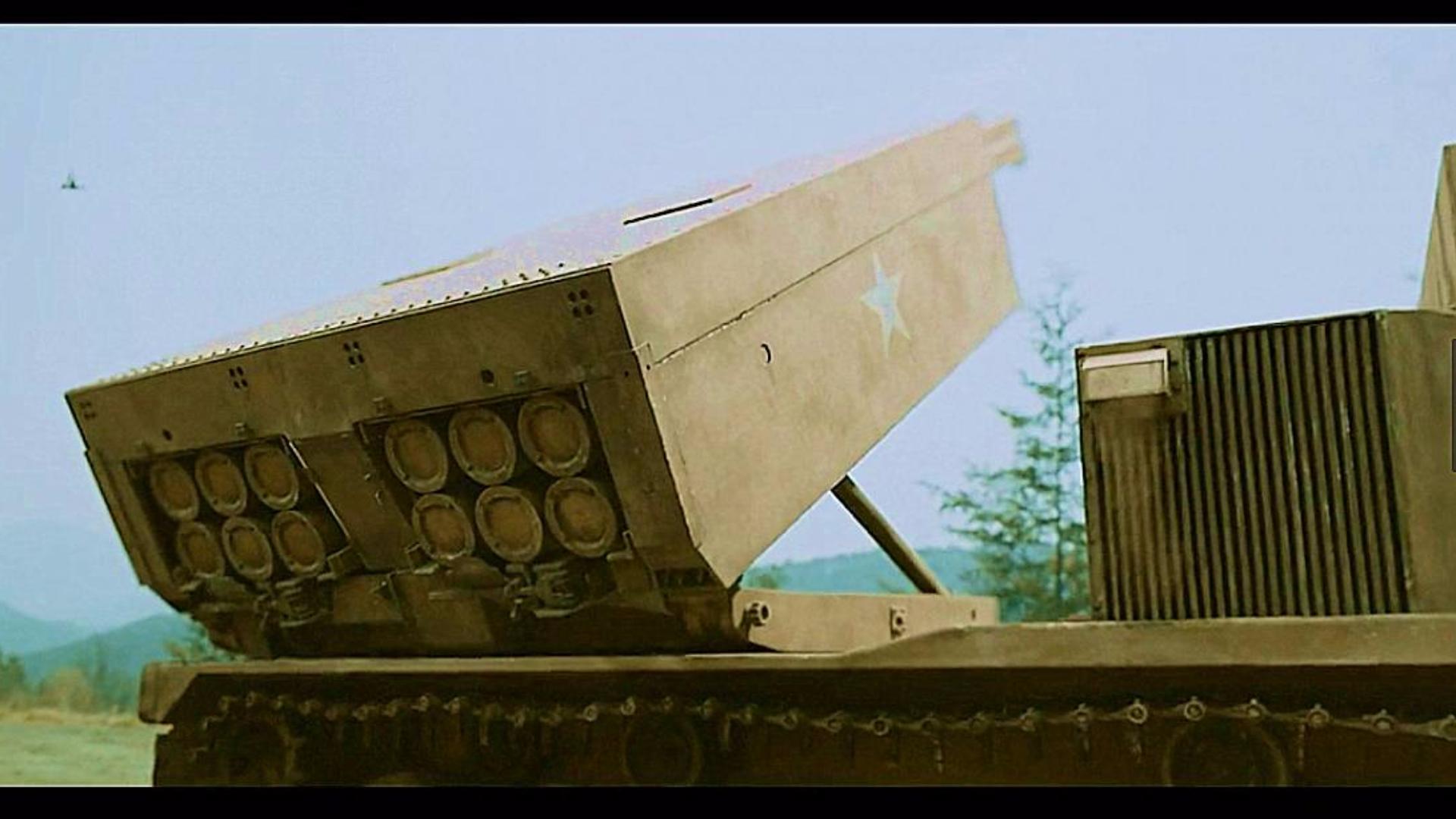 【战争影视合集】崩天!灭地!炸海!多管联装火箭炮之威!