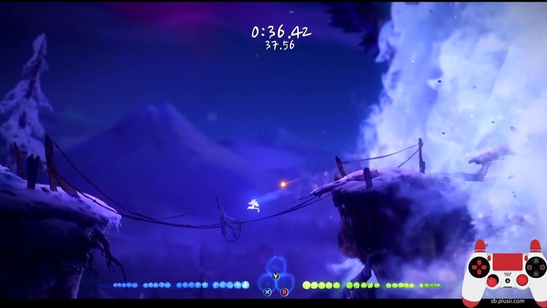 《Ori2》精灵试炼追逐战速通练习——雪崩逃亡37.34秒
