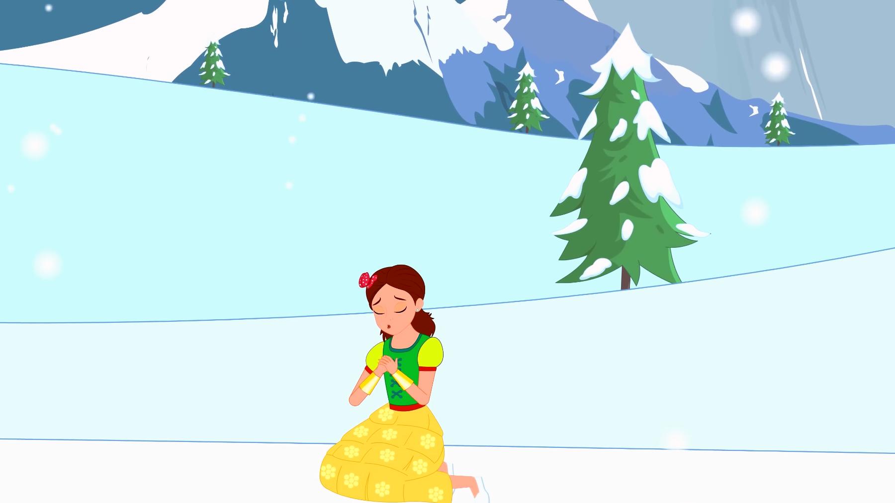 蒙古语童话 白雪皇后