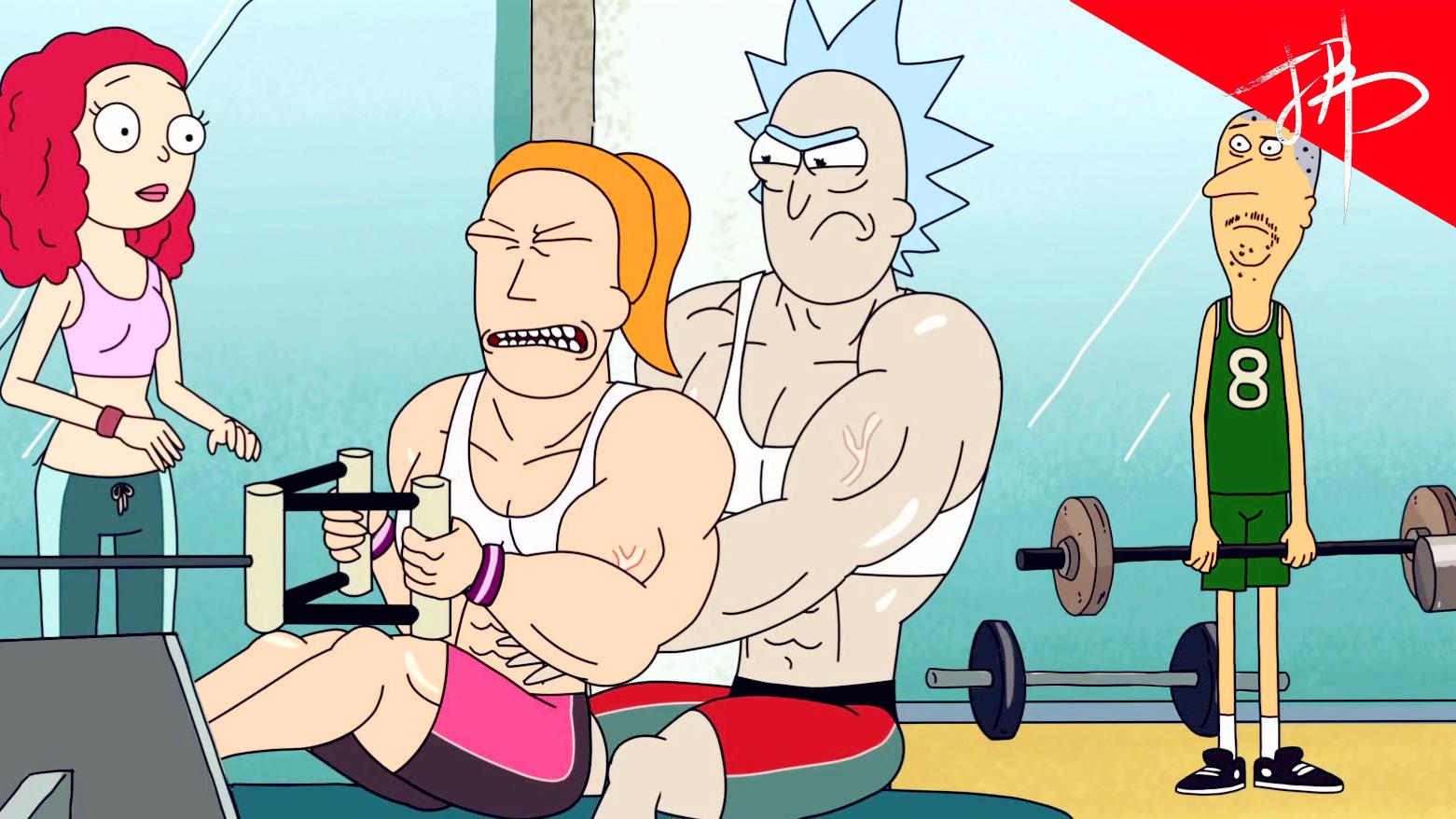 科学和玄学都比不过肌肉护体!解密《瑞克和莫蒂》S1E09 下