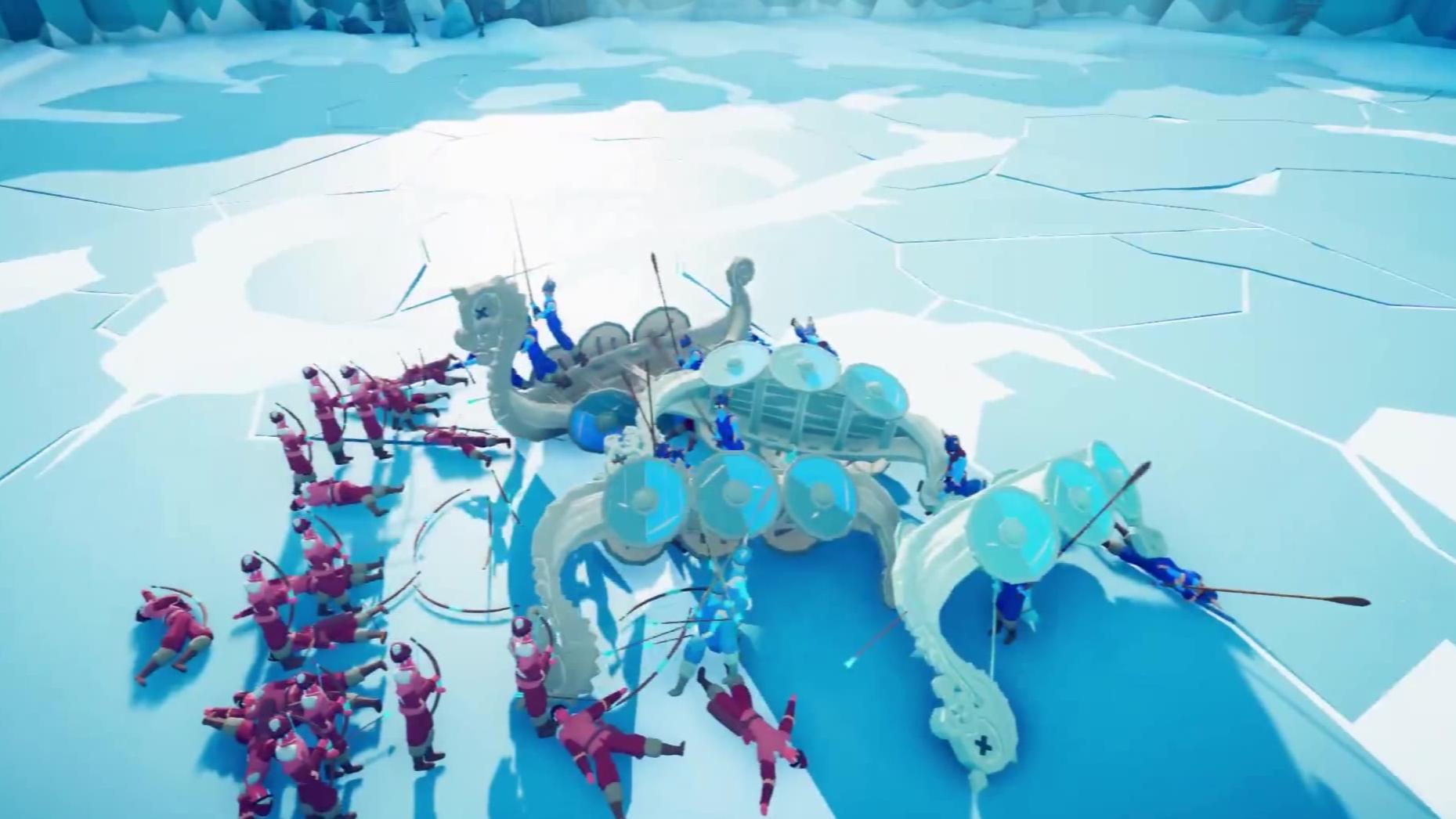 【全面战争模拟器】看寒冰射手的厉害