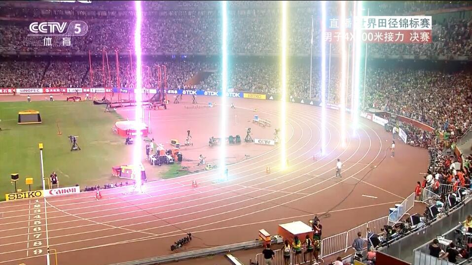 加上中二度爆表5毛特效,来看看4×100接力的量产闪电侠,中国获得银牌!