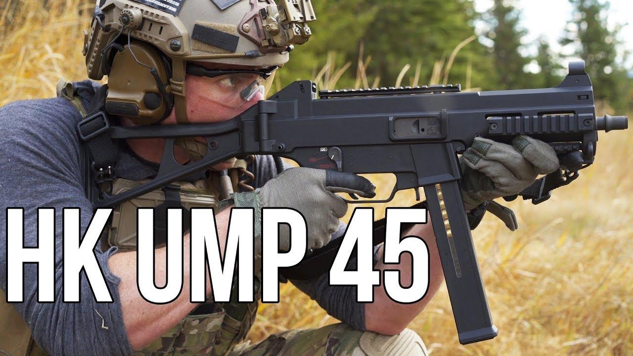 中文字幕【Garand Thumb】H&K UMP 45 测评