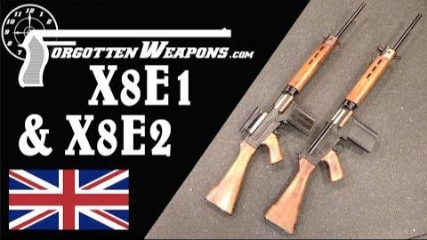 【被遗忘的武器/双语】X8E1 & X8E2--英军1954年测试用的FAL